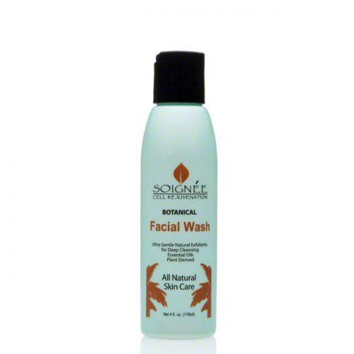 Soignee Botanical Facial Wash with MSM, 4 fl oz