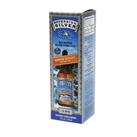 Sovereign Silver Bio-Active Silver Hydrosol, Dropper-Top - 2 fl oz