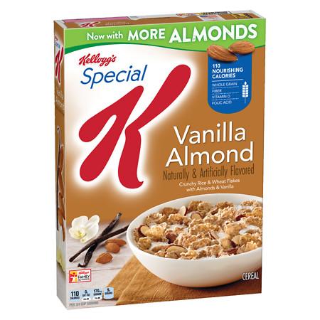 Special K Cereal Vanilla Almond - 12.4 oz.