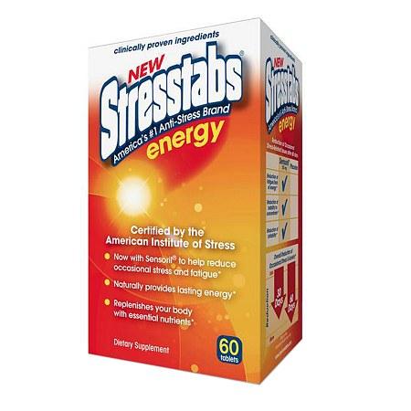Stresstabs Energy, Tablets - 60 ea