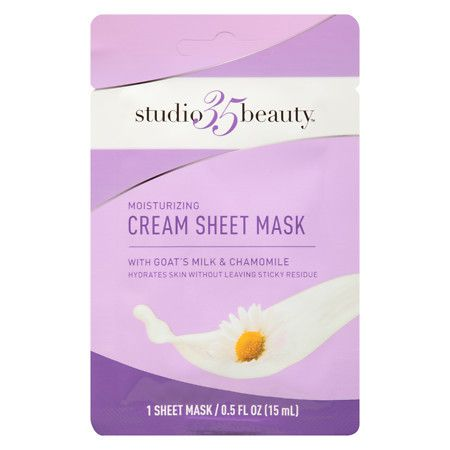 Studio 35 Moisturizing Cream Sheet Mask - 0.5 oz.