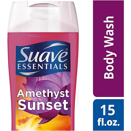 Suave Essentials Body Wash Amethyst Sunset - 15 oz.