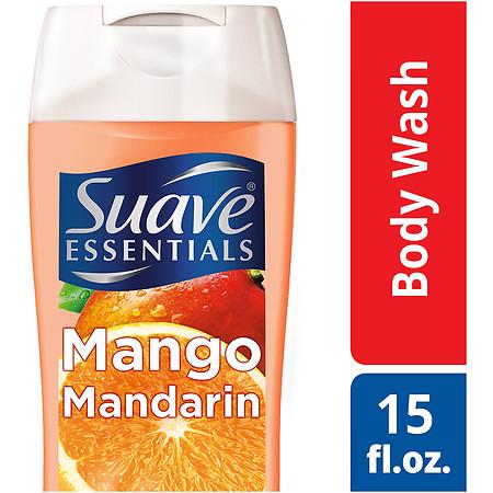 Suave Essentials Body Wash Mango Mandarin - 15 oz.