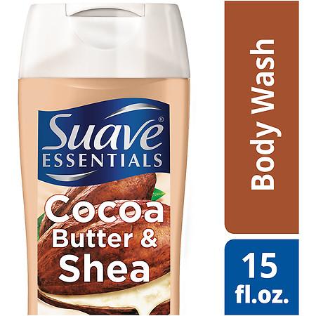 Suave Naturals Essentials Body Wash Cocoa & Shea - 15 fl oz
