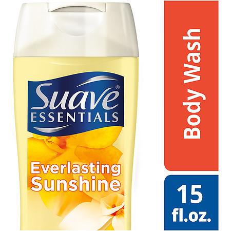 Suave Naturals Essentials Body Wash Everlasting Sunshine - 15 fl oz