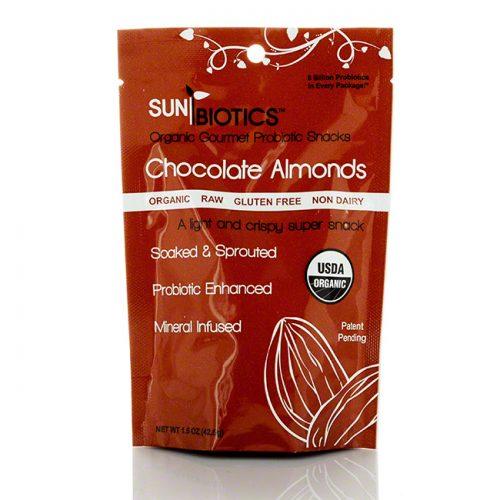 Sunbiotics Chocolate Almonds, 1.5 oz