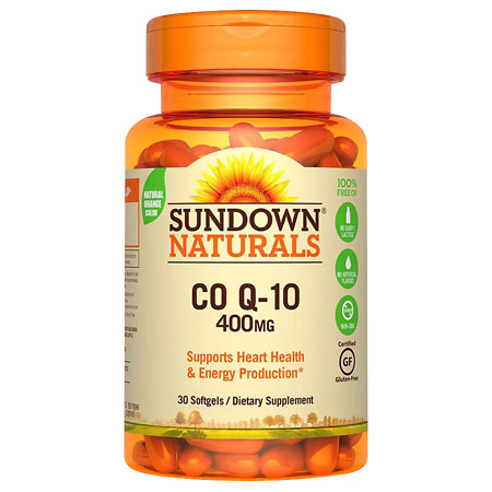 Sundown Naturals Q-Sorb CoQ10, 400mg, Softgels - 24 ea
