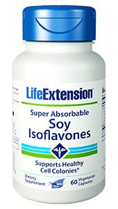 Super-Absorbable Soy Isoflavones, 60 vegetarian capsules