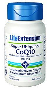 Super Ubiquinol CoQ10 with Enhanced Mitochondrial Support™, 100 mg, 60 softgels