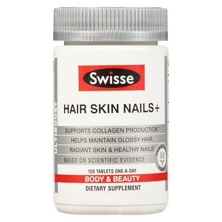 Swisse Ultiboost Hair Skin & Nails - 150 ea