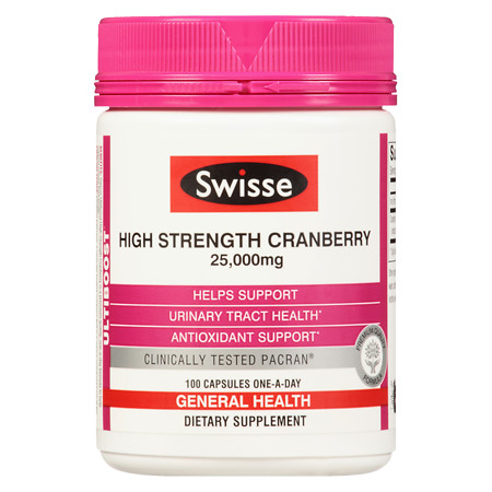 Swisse Ultiboost High Strength Cranberry - 100 ea