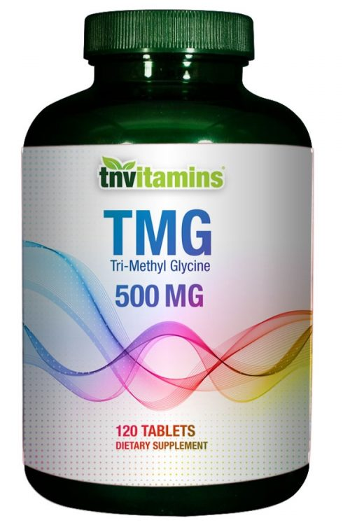 TMG (Tri-Methyl Glycine) 500 Mg Tablets