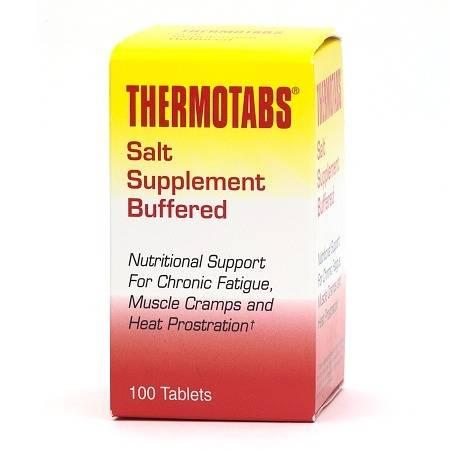 Thermotabs Salt Supplement Buffered Tablets - 100 ea