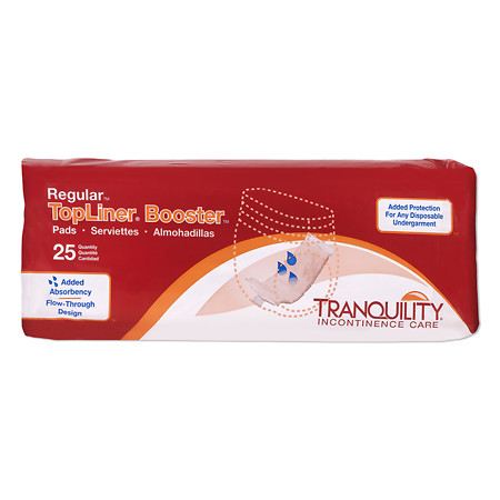 Tranquility TopLiner Booster Pad - 200 ea.