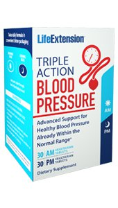 Triple Action Blood Pressure, 30 AM vegetarian tablets, 30 PM vegetarian tablets