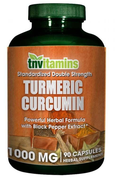 Turmeric Curcumin 1000 Mg 90 Capsules W/ Black Pepper Ext