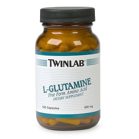 Twinlab L-Glutamine Dietary Supplement Capsules - 100 ea