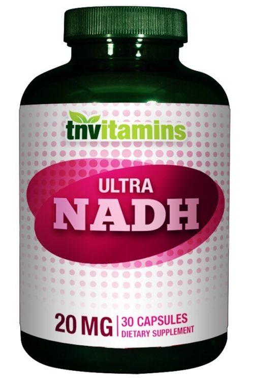 Ultra NADH 20 Mg Capsules