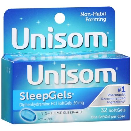 Unisom Nighttime Sleep-Aid Sleepgels - 32 ea