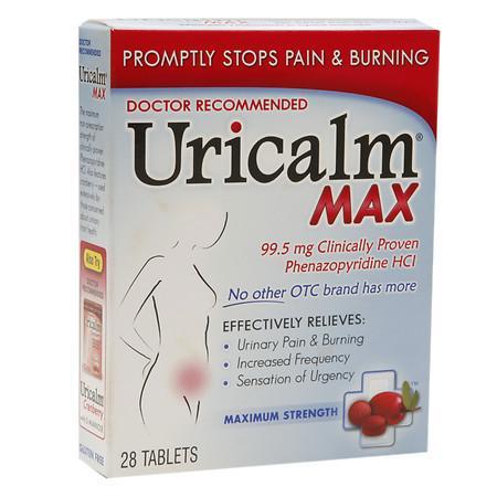 Uricalm Uricalm Max Strength Urinary Pain Tablets - 28 ea