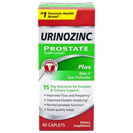 Urinozinc ProFlo Plus Prostate Health Complex, Caplets - 60 ea