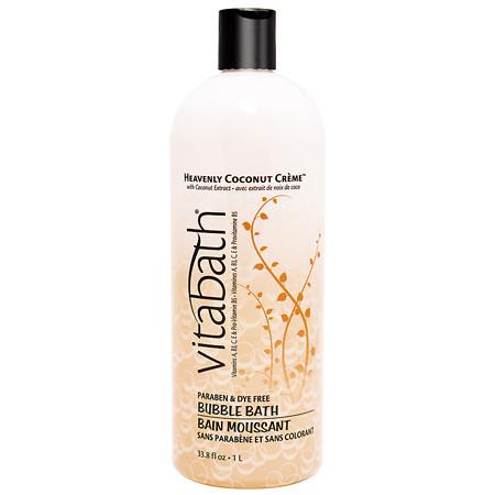 Vitabath Heavenly Coconut Creme Bubble Bath - 33.8 oz.