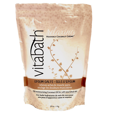 Vitabath Heavenly Coconut Creme Epsom Salts - 36 oz.