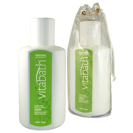 Vitabath Moisturizing Bath & Shower Gelee Original Spring Green - 128 oz.