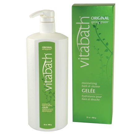 Vitabath Moisturizing Bath & Shower Gelee Original Spring Green - 32 oz.