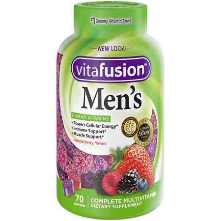 Vitafusion Men's Daily Multivitamin Gummy - 70 ea