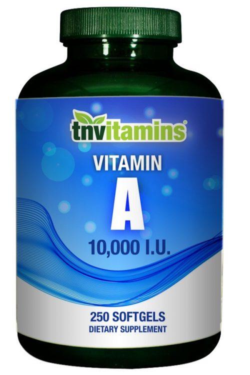Vitamin A Capsules 10,000 IU