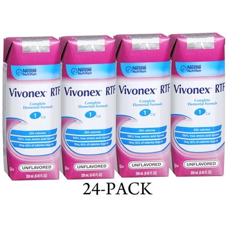 Vivonex RTF Complete Elemental Formula Medical Food Liquid Unflavored - 8.45 fl oz