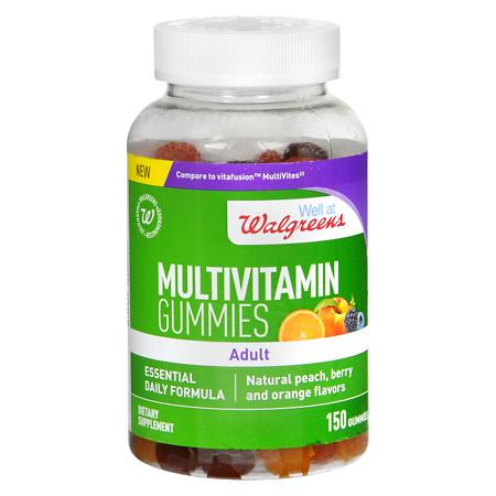 Walgreens Adult Multivitamin Gummies Peach - 150 ea