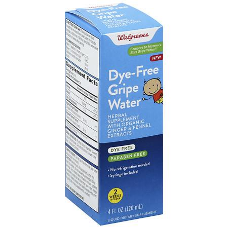 Walgreens Dye-Free Gripe Water - 4 OZ