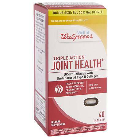 Walgreens Joint Health UCII-BS - 40 ea