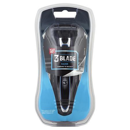 Walgreens Men's 3-Blade Razor Kit - 1 ea