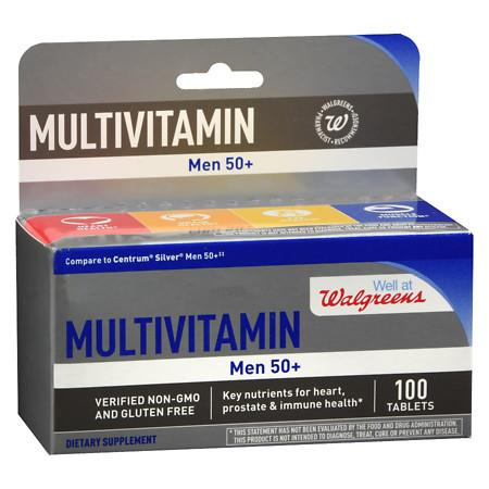 Walgreens Men's 50+ Multivitamin - 100 ea
