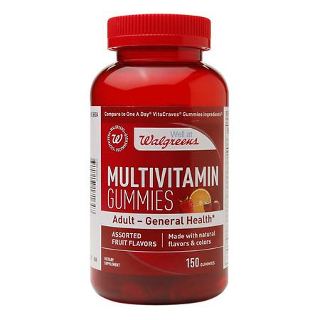 Walgreens Multivitamin Adult Gummies Fruit - 150 ea