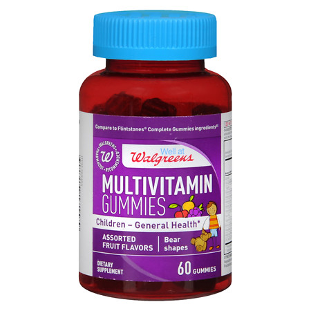 Walgreens Multivitamin Childrens Gummies Fruit - 60 ea