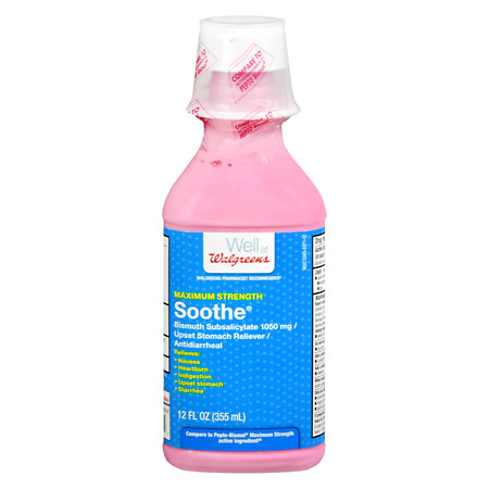 Walgreens Soothe Max Strength Liquid - 12 oz.