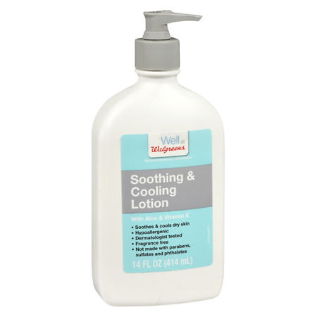 Walgreens Soothing And Cooling Lotion - 14 oz.