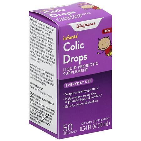 Walgreens Soothing Probiotic Drops - 0.34 OZ