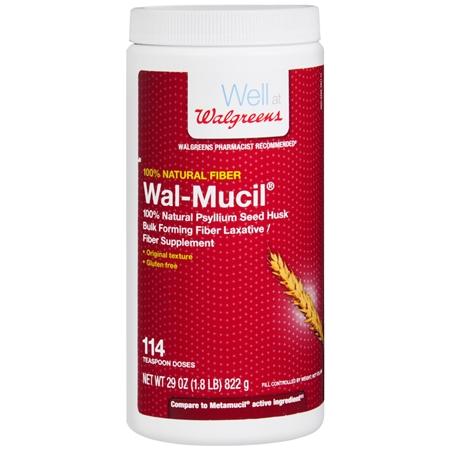 Walgreens Wal-Mucil 100% Natural Fiber - 29 oz.