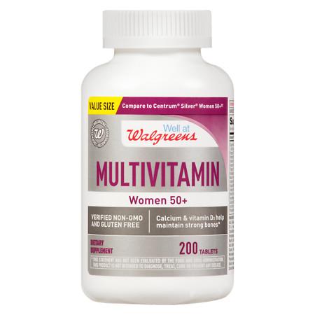 Walgreens Women's 50+ Multivitamin - 200 ea
