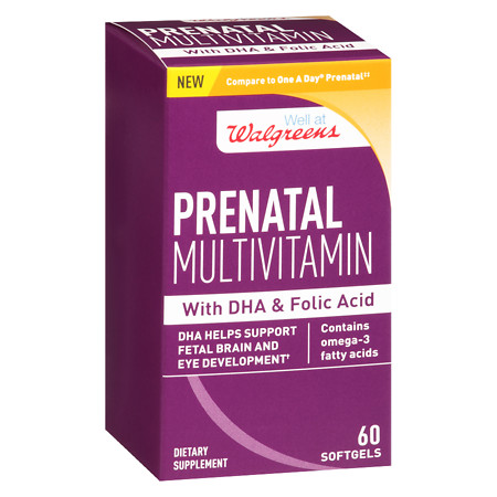 Walgreens Women's Prenatal Supplement - 60 ea