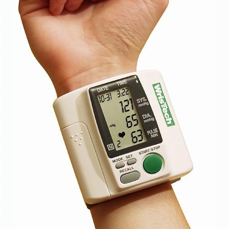 Wristech Blood Pressure Monitor - 1 ea