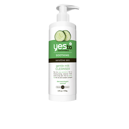 Yes to Cucumbers Gentle Milk Cleanser - 6 fl oz