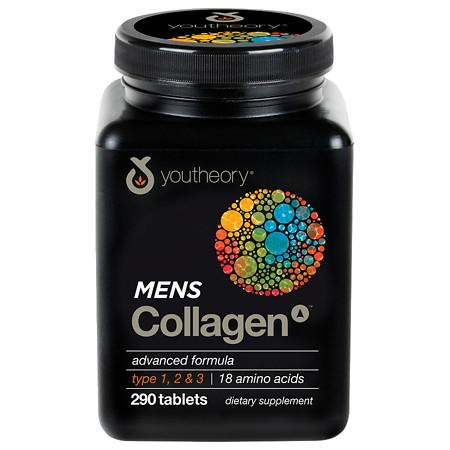 Youtheory Mens Collagen Advanced Formula - 290 ea