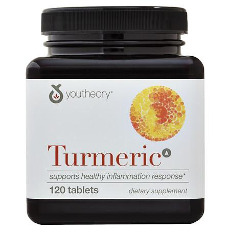 Youtheory Turmeric Advanced Formula Anti-Inflammatory Support, Tablets - 120 ea