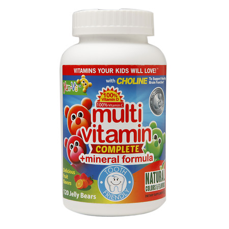 Yum-V's Multivitamin Complete + Mineral Formula Jellies Fruit - 120 ea